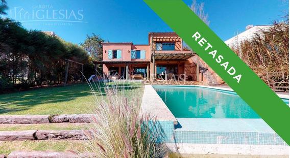 Tour 360º - Casa Al Lago De 3 Dormitorios En Venta Las Glorietas
