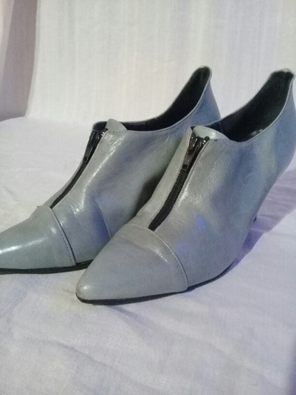 Zapatos De Cuero Lucerna Talle 37
