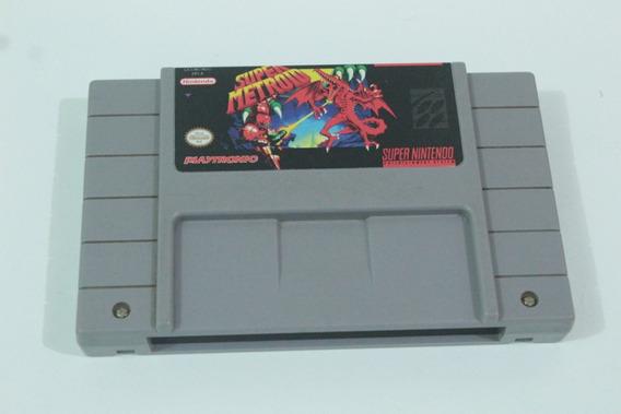 Super Metroid Original Playtronic Para Super Nintendo Snes