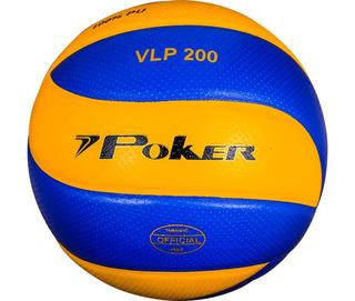 Bola De Volley Profissional Vlp 200 Poker Vulcanizada