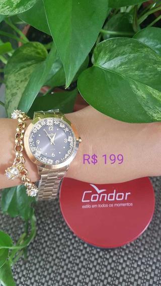 Relógio Condor Feminino Original E Nfe