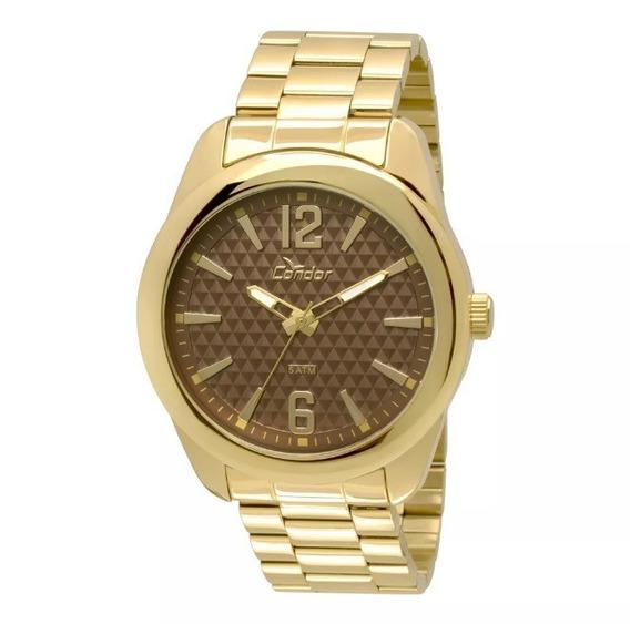 Relógio Dourado Condor Co2036de Masculino