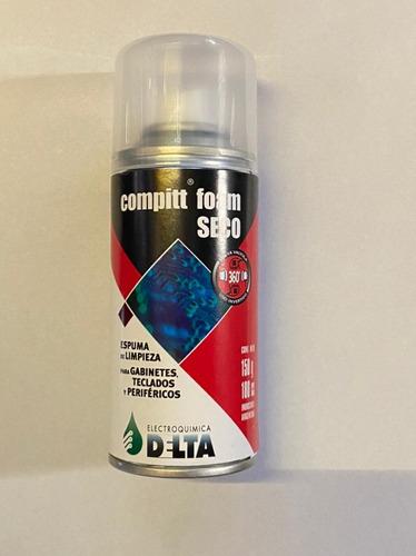 Imagen 1 de 1 de Compitt Foam Seco 150g / 180cc. Espuma De Limpieza Delta