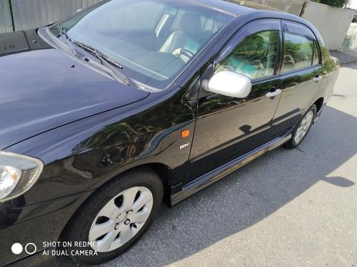 Corolla 2007 Brad Pit Preto Automatico