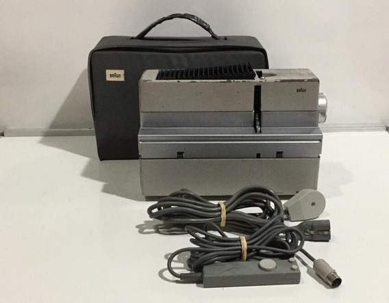 Projetor De Slides Braun Mod D40 350-550w Bivolt (no Estado)