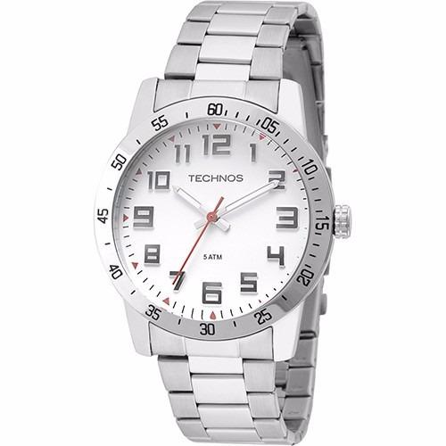 Relógio Technos Masculino 2035lwd/1b Prata Analogico Oferta