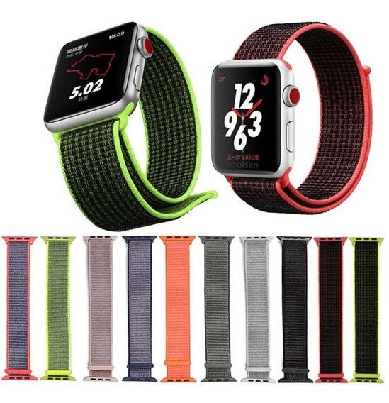 Correa Extensible Apple Iwatch 44 42 40 38mm Velcro Nylon