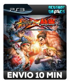 Street Fighter X Tekken - Psn Ps3 - Envio Imediato