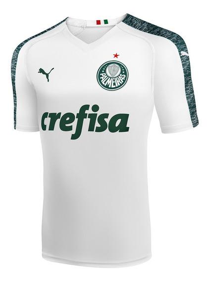 Camisa Palmeiras 2019 Ii Branca Personalizável Frete Grátis