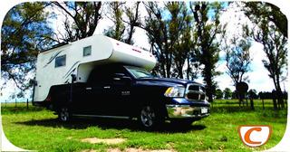 Camper Para Camionetas Doble Cabina Dodge Ram Tronador