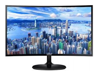 """Monitor Samsung C24F390FHL LED 23.5"""" negro 110V/220V"""