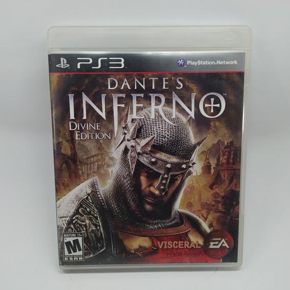 Dantes Inferno Ps3 Mídia Física Usado Original Físico Play 3