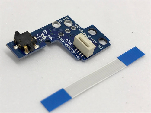 Boton Encendido Ps2 Placa Reset Ps2 Mod 90xxx + Flex 8pines