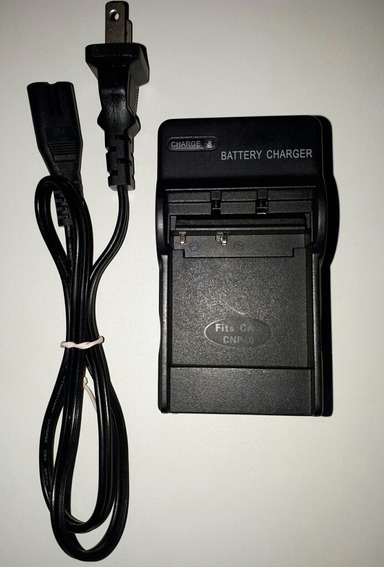 Carregador De Bateria Para Câmeras Digital Cas_cnp40 Cnp70