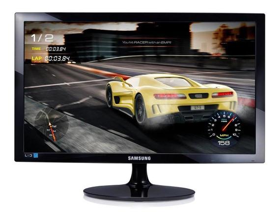 Monitor Gamer Samsung Led 24 Pol Widescreen, Full Hd, Hdmi/v
