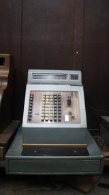 Antiga Caixa Máquina Registradora Metal Eletrica
