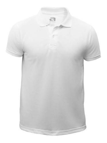Camiseta Polo Aritex Caballero Blanca 803863