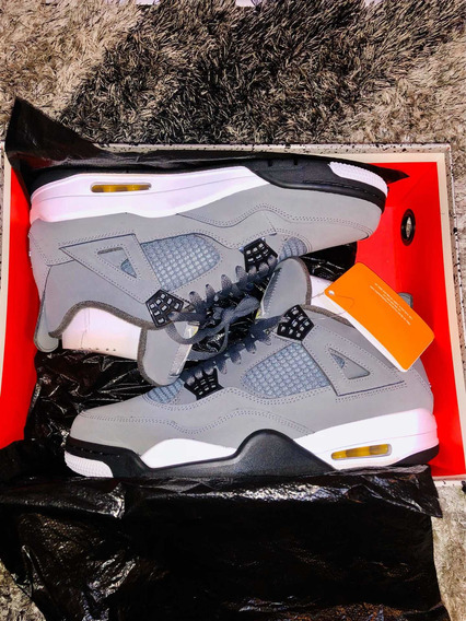 Tenis Nike Air Jordan 4 Cool Grey Dstw Novo 10/10