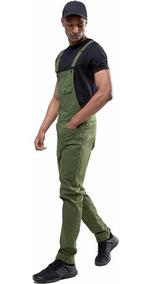 Macacão Masculino Street Style Verde Vcstilo