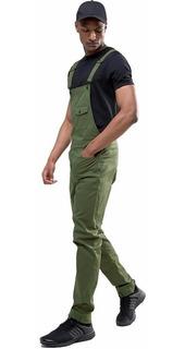 Macacão Masculino Street Style M01 Verde Vcstilo