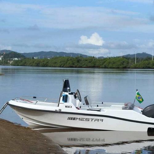 Lancha Mestra 160 Fishing Com Motor Mercury 50 Hp 2 Tempos