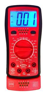 Tester Digital Zurich Zr-4300 Usb Rj45 Miniusb Probador Utp