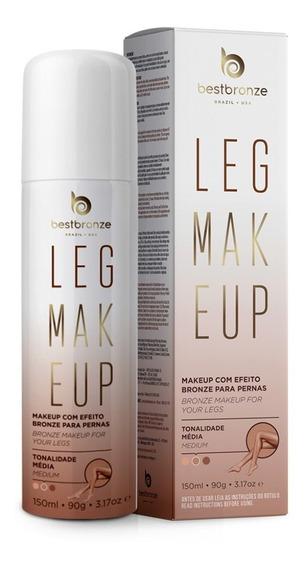 Leg Makeup Para Pernas Best Bronze Profissional Média