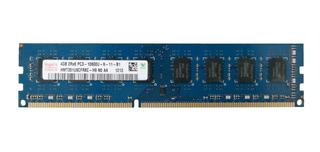 Memoria Dimm Ddr3 4gb Pc3-10600u 1333mhz Hynix Para Pc