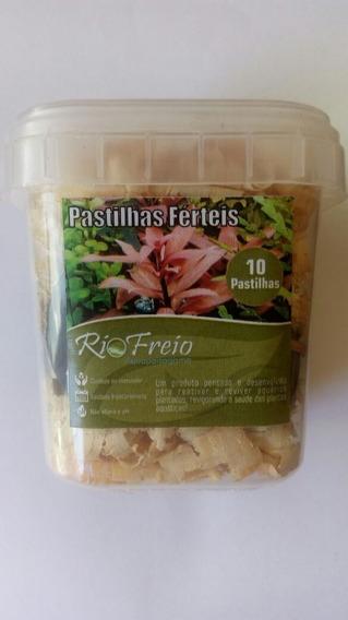 Pastilha Fértil Rio Freio 10 Pastilhas P Aquário Plantado