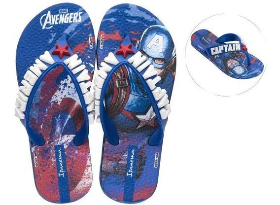 Chinelo Ipanema Inf. Masculino Avengers