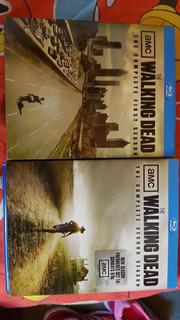 The Walking Dead Blue Ray. Temporada 1 Y 2 Excelente Estado