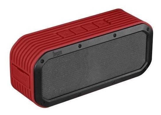 Caixa De Som Bluetooth Divoom Voombox Outdoor 15w - Vermelho
