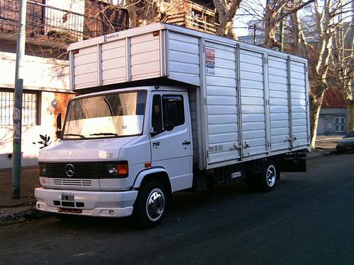 Imagen 1 de 9 de Mudanzas Y Fletes Económicos F100 Canastos Camión Mudancero