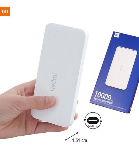 Xiaomi Power Bank Cargador 10mil Usb-c Carga Rapida Redmi