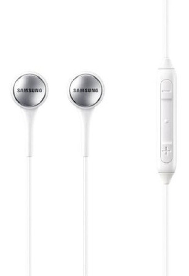 Fone Original Samsung Estéreo Com Fio In Ear Ig935 - Branco
