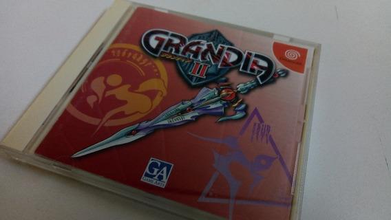 Jogo Dreamcast Grandia Original Japonês