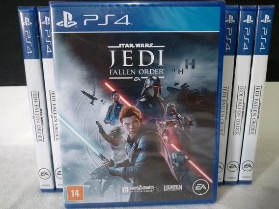 Star Wars Jedi Fallen Order Ps4 Mídia Física Novo Português