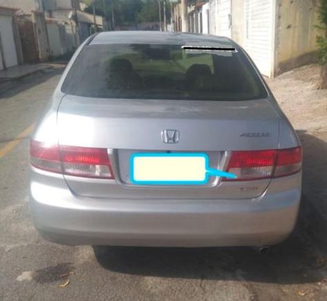 Honda Accord Ex 2.4 2003 Raridade