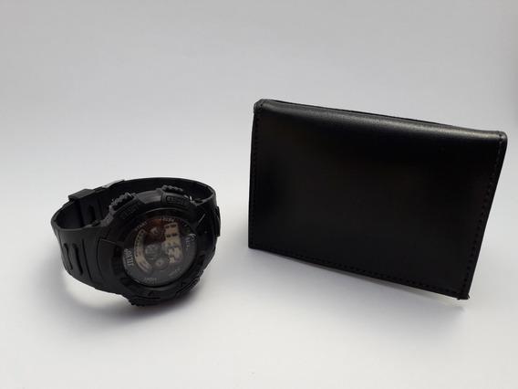 Kit Mini Carteira E Relógio Digital