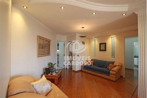 Imagem 1 de 19 de Apartamento Com 3 Dormitórios À Venda, 113 M² Por R$ 960.000 - Perdizes - São Paulo/sp - Ap0437