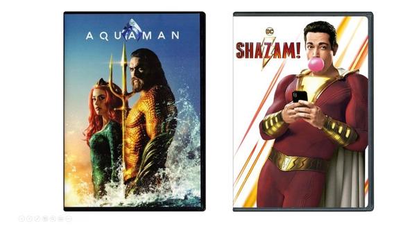 Dvd Aquaman + ¡shazam!
