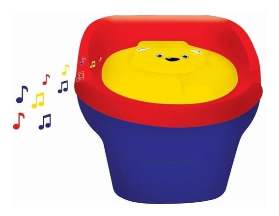 Troninho Infantil Peniquinho Musical Menino Ou Menina