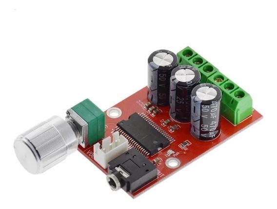 Placa De Amplificador Estereo Yda 138- E Classe D