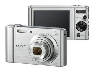 Cámara Sony Dsc W800 20.1mp Con Zoom Óptico De 5x Original