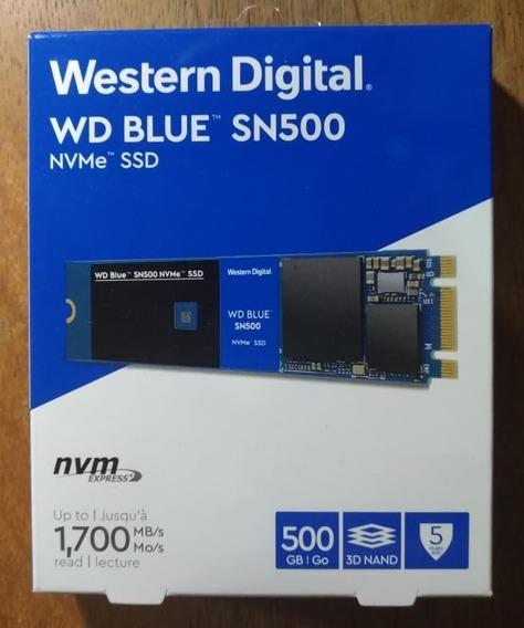 Wd Blue Sn500 Ssd M.2 500gb Nvme (entrega Apenas Em Mãos!)