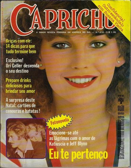 1976 Revista Capricho Nº 418 Editora Abril Fotonovela