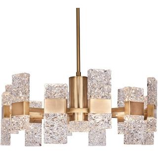 Lámpara De Techo Colgante Chandelier Moderna Minimalista