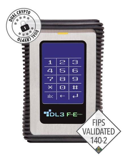 Disco Externo Portatil Data Locker 3 Fe 1 Tb, Usb 3.0,