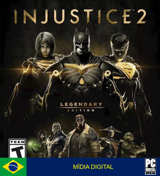 Injustice 2 Legendary Edition Pc Original Envio Imediato!