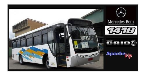 Ônibus Rodoviario Mercedes Curto Oh 1418 2005 Caio Apache